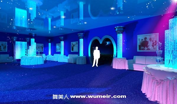婚礼舞台布景设计