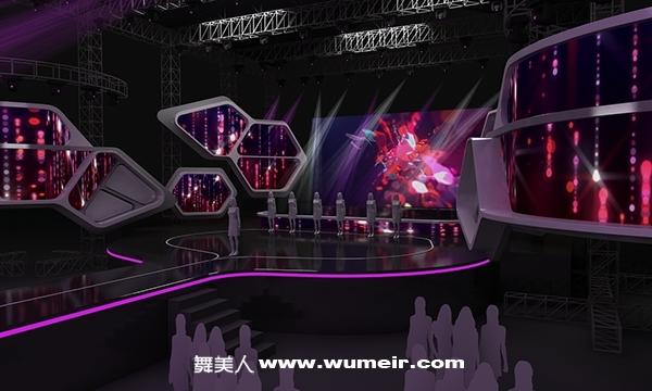 中小型演唱会舞台设计